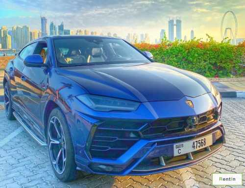 Lamborghini Urus for rent Dubai