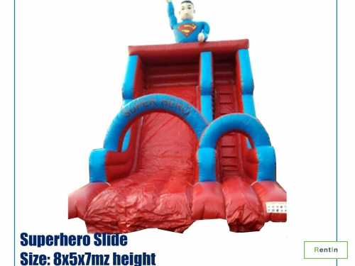 Super Hero Slide