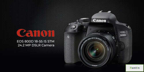 Canon EOS 800D DSLR Camera with 18-55 lens