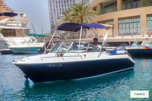 FISHING BOAT FOR RENT - YAMAHA FR 24 BR (Dubai)