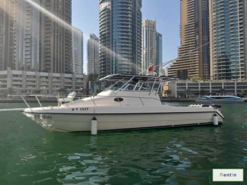 Fishing boat for rent Dubai - Majesty 33