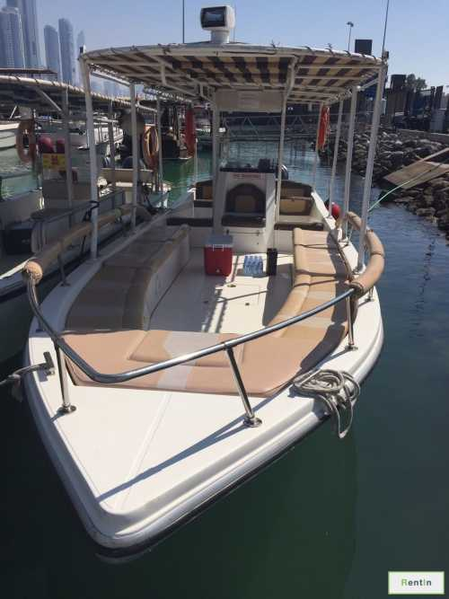 Fishing boat for rent Abu Dhabi - 35ft boat