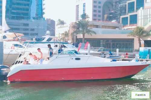 Private yacht cruise - rent a small yacht 35 feet