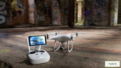 Drone For Rent, Phantom 4 Pro for rent in Dubai